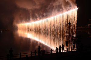 湖水まつり花火大会